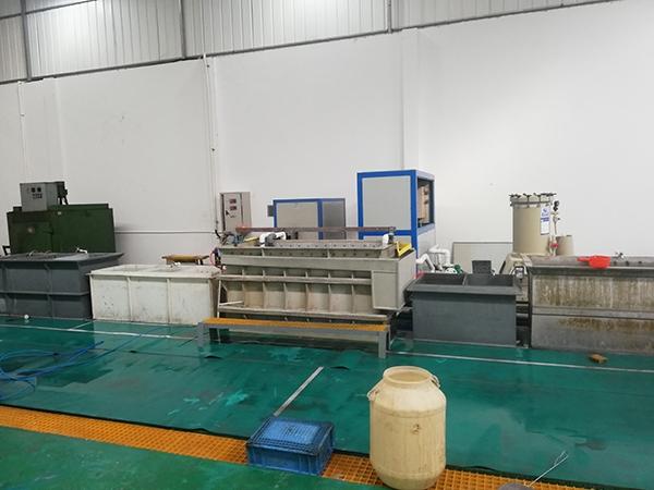 Hard anodizing production line
